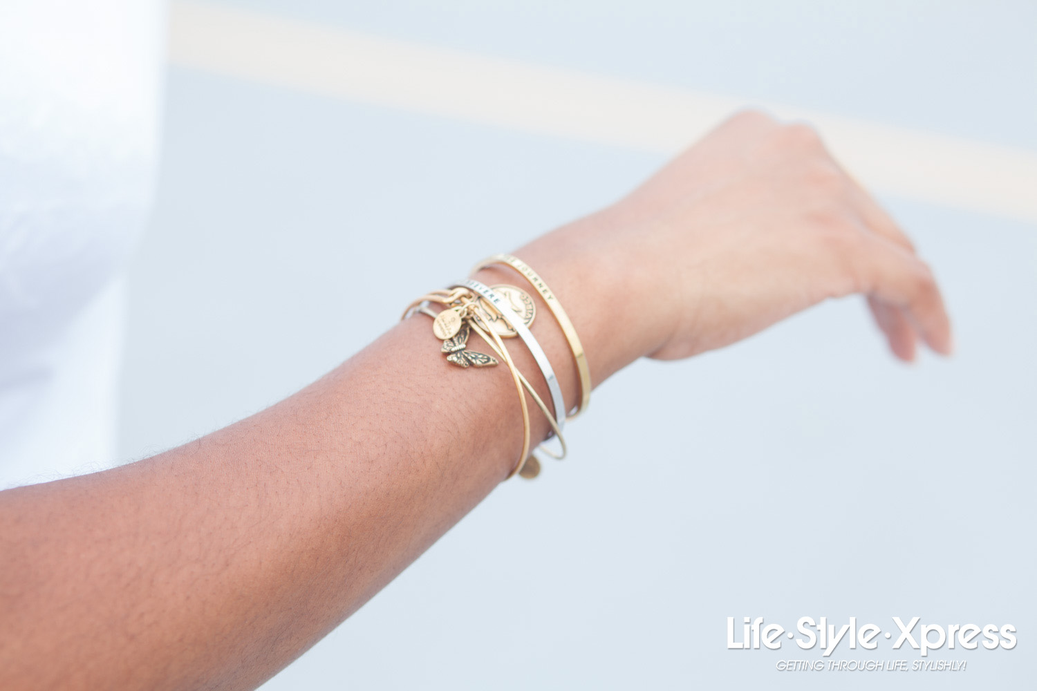 Life Style Xpress, Motivational Tips, Alex and Ani, Mantra Band
