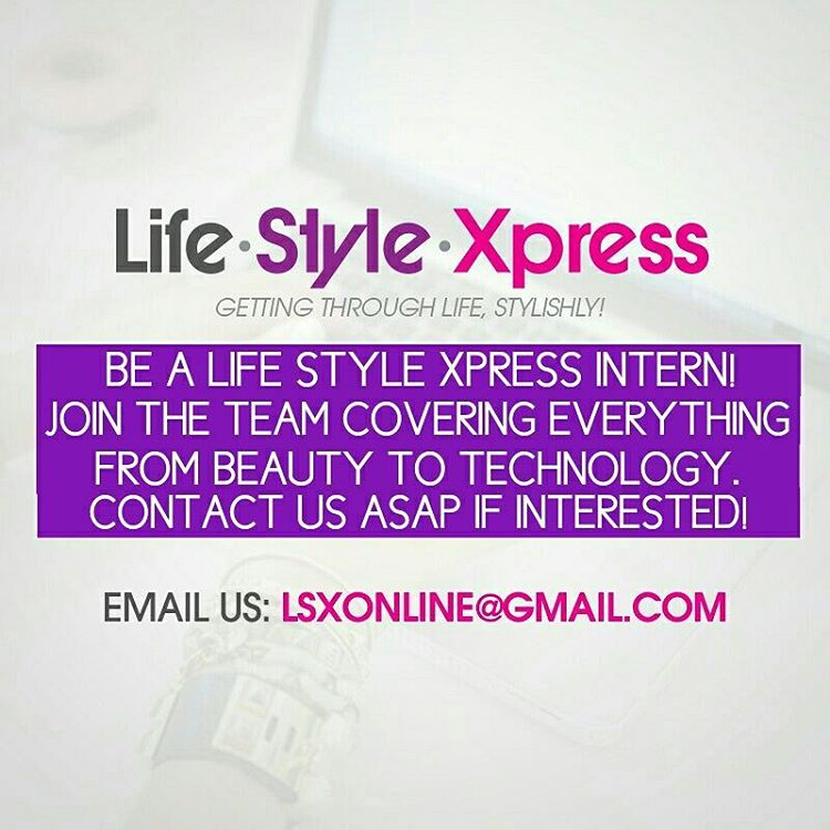 LifestyleXpress is looking for LOVERS OF ALL THINGS LIFESTYLE FASHIONhellip
