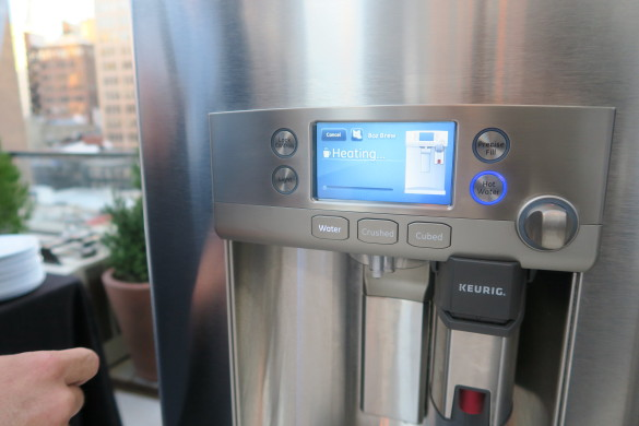 GE Cafe with Keurig K-Cup Brewing System