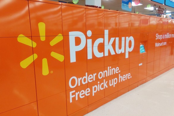 Walmart PIckup Locker, Walmart, Life Style Xpress, Pickup Locker, Online Shopping
