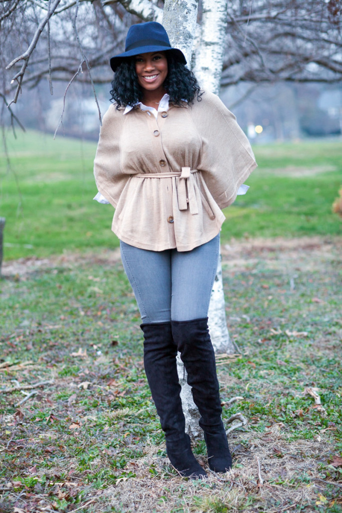 How to Wear your Poncho in the Winter, Life Style Xpress
